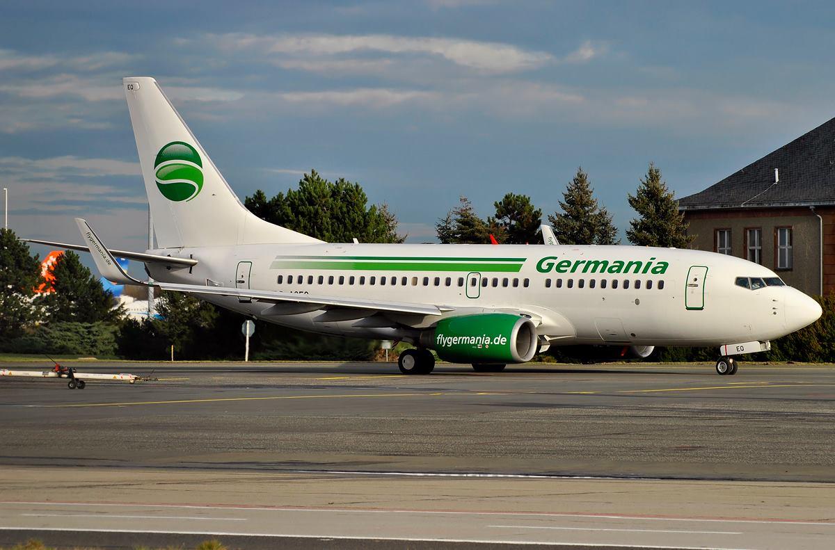 Germania / B737-700W / D-AGEQ / Berlin-Schönefeld / 17.01.2015