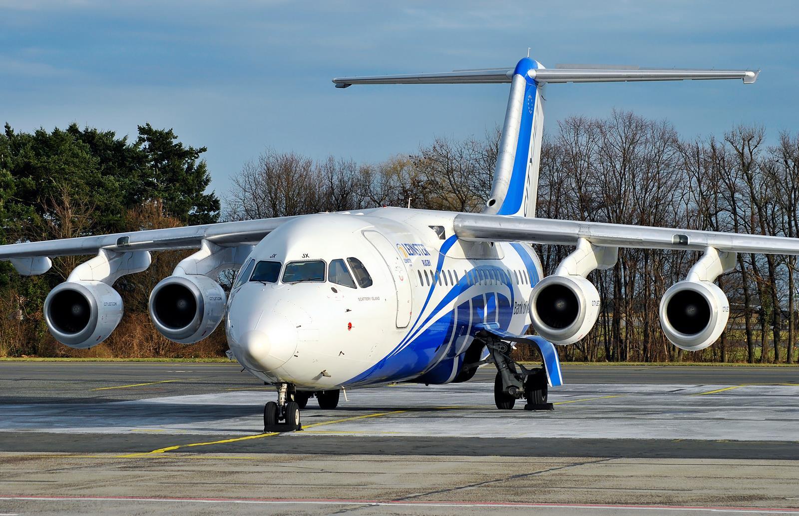 Cityjet / BAe-146 / EI-RJX / Berlin-Schönefeld / 17.01.2015