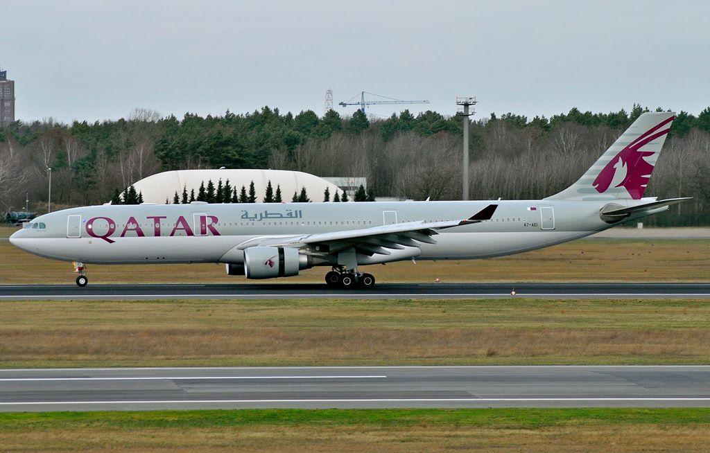 Qatar Airways / A330-300 / A7-AEI / Berlin-Tegel / 03.01.2015