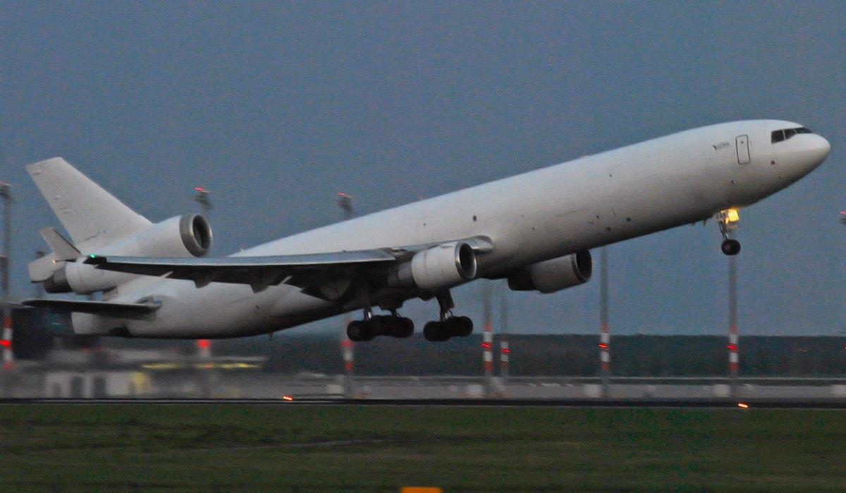 Global Africa Cargo / MD-11F / Z-GAB / Berlin-Schönefeld / 28.04.2015