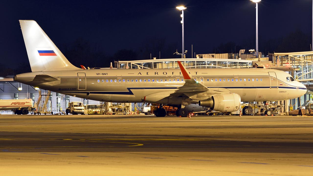 Aeroflot / A320-200SL / VP-BNT / Berlin-Schönefeld / 22.04.2016 *Retro c/s*