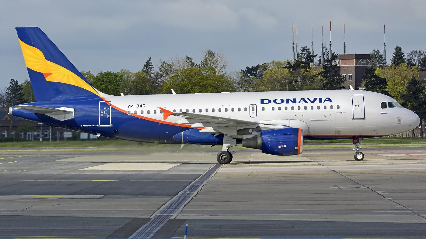 Donavia / A319 / VP-BWG / Berlin-Schönefeld / 24.04.2016 *opr. for Rossiya*