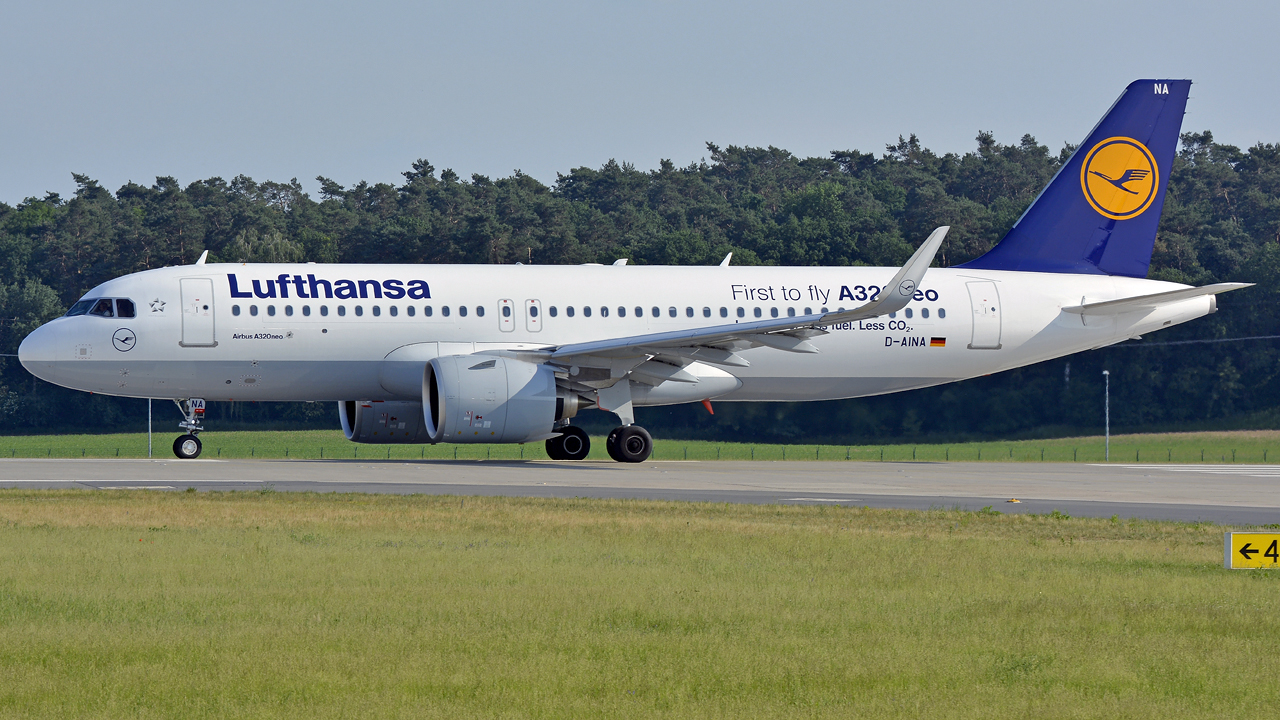 Lufthansa / A320-200Neo / D-AINA / Berlin-Schönefeld / 04.06.2016