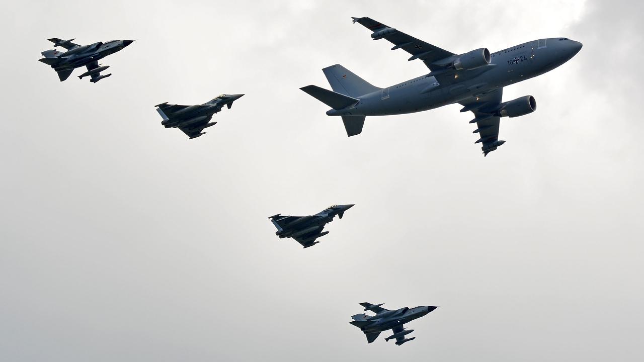 Luftwaffe / Eurofighter & Tornado / A310MRTT / Berlin-Schönefeld / 03.06.2016