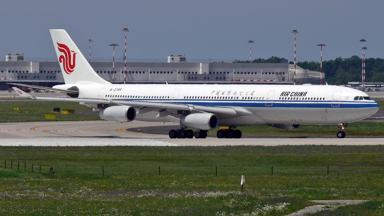 Air China / A340-300 / B-2388 / Mailand-Malpensa / 03.07.2011