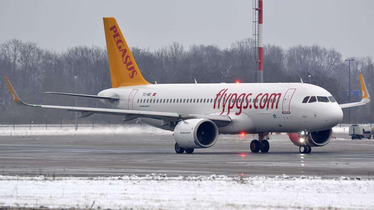 Pegasus / A320-200Neo / TC-NBA / Berlin-Schönefeld / 01.01.2017